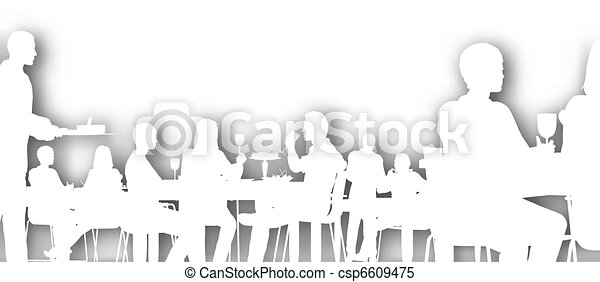 Cutout dining - csp6609475