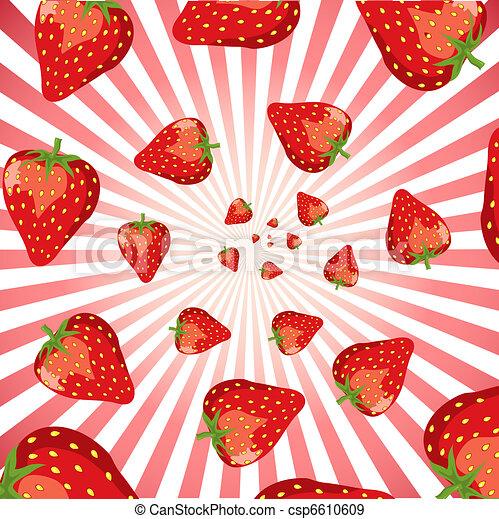 Strawberry swirl - csp6610609