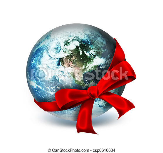 world as a gift - csp6610634