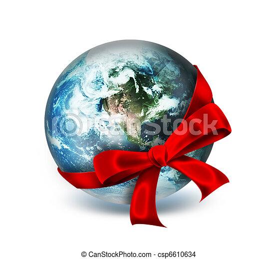 world as a gift - csp6610634