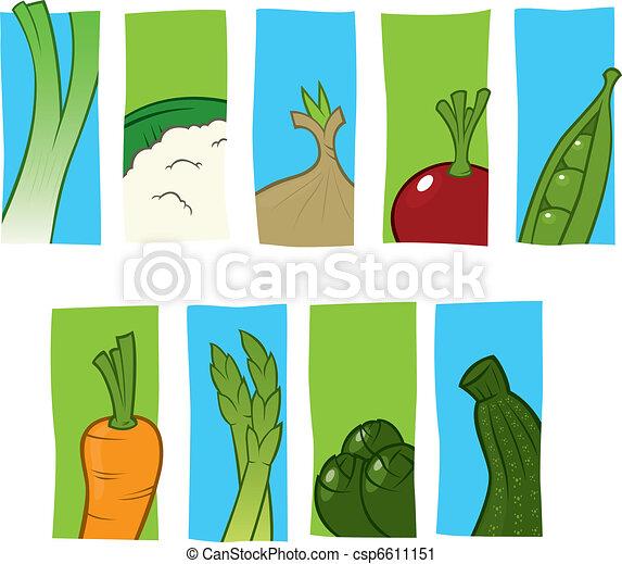 Vegetable icons - csp6611151