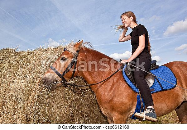 Yummy Hay - csp6612160