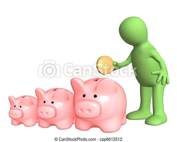 A choice of bank account - csp6612512