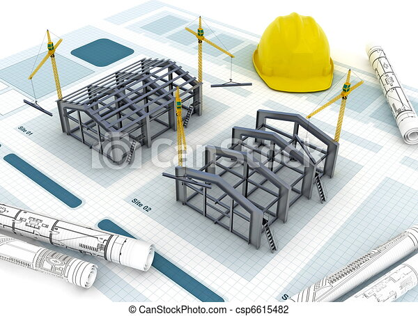 Factory Construction - csp6615482
