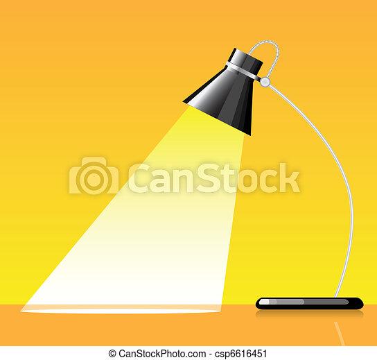 Desk lamp Illustrations and Clipart 8857 Desk lamp royalty free – Desk Lamp Logo