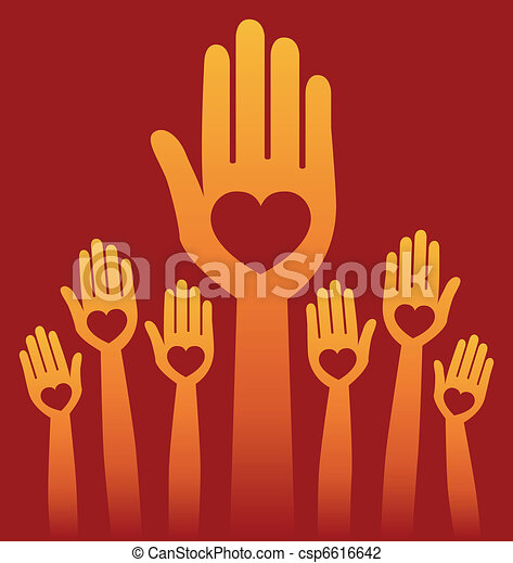 Warm loving people. - csp6616642