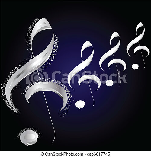 Spring Music Background - csp6617745