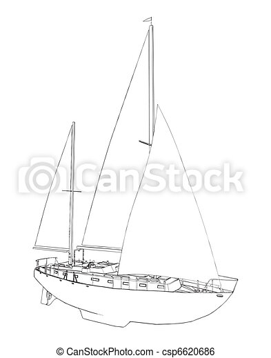 Sailing Boat - csp6620686