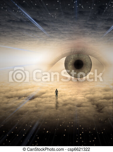 Eye of god - csp6621322