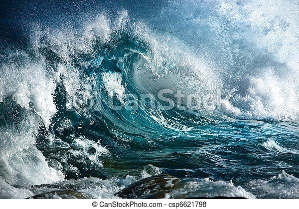 Ocean wave  - csp6621798