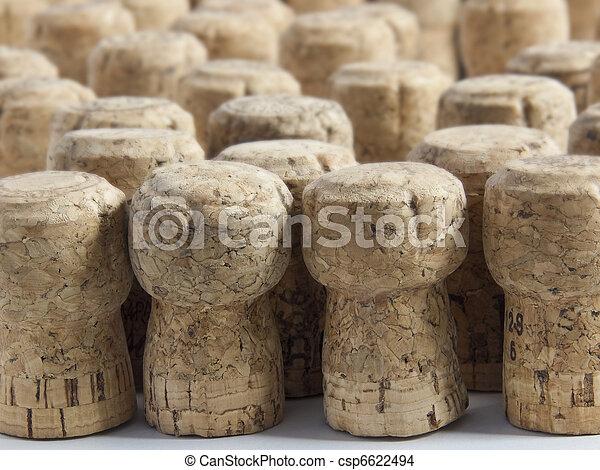 Champagne corks - csp6622494