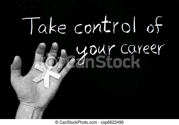 Take control of your career - csp6622496