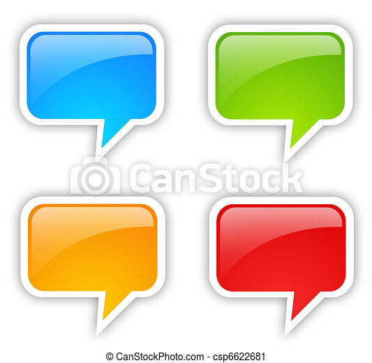 Speech bubble - csp6622681