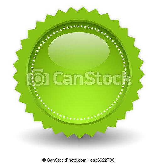 Blank shiny icon - csp6622736