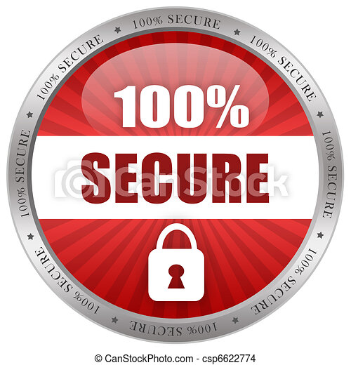 Secure icon - csp6622774