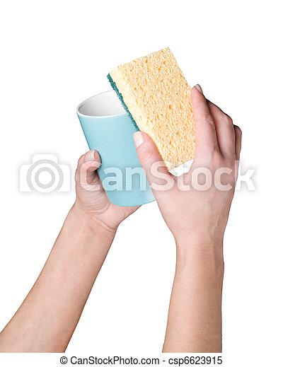 Images de lavage tasse mains mains lavage tasse sur - Laver un oreiller en plume ...