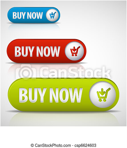 set of buy now buttons - csp6624603