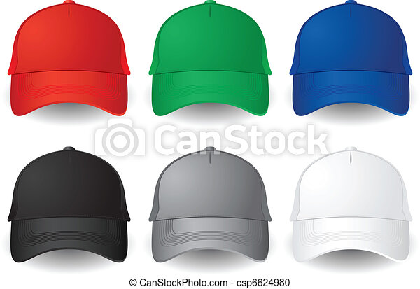 Vector baseball caps - csp6624980