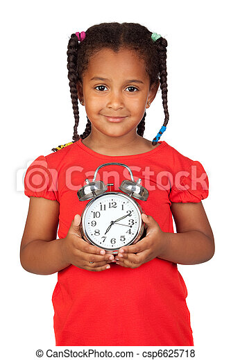 africano reloj