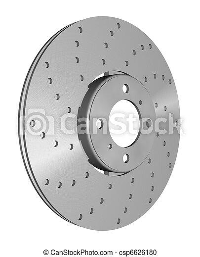 double disc brake rotor - csp6626180