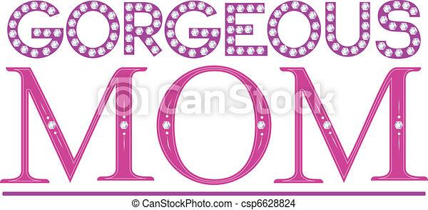 Gorgeous Mom - csp6628824