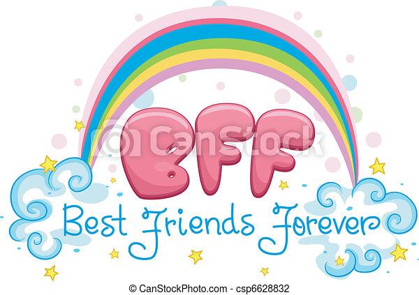 Best Friends Forever - csp6628832