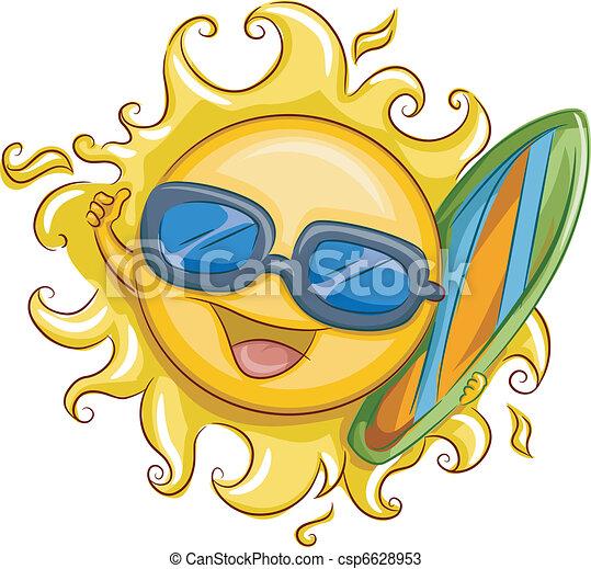 Surfer Sun - csp6628953