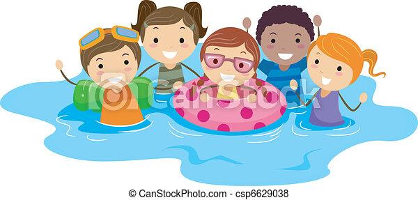 Schwimmen cliparts kostenlos  Schwimmen Illustrationen und Clip-Art. 44.793 Schwimmen ...