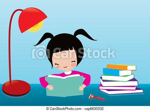 kid learning - csp6630332