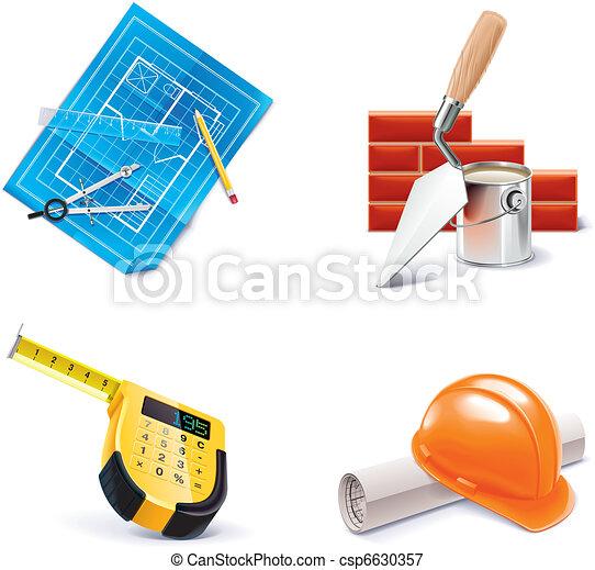 Vector Homebuilding&Renovating. 3 - csp6630357