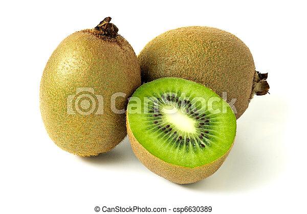 ripe kiwi fruit - csp6630389