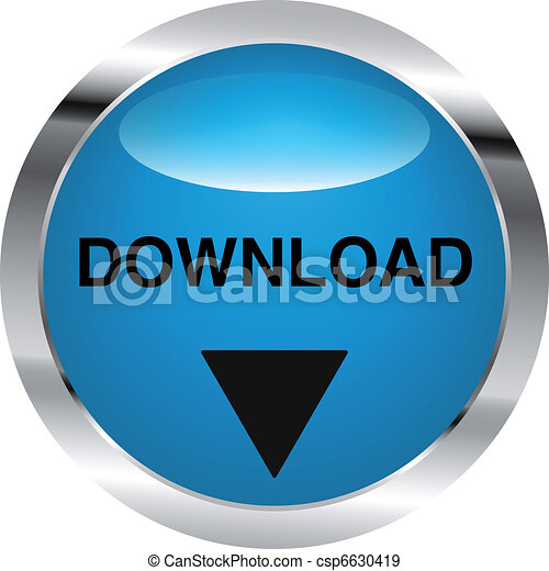 download button steel - csp6630419