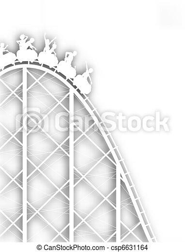 Rollercoaster cutout - csp6631164