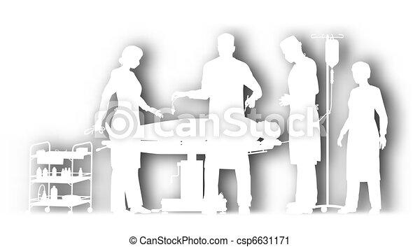 Surgery cutout - csp6631171