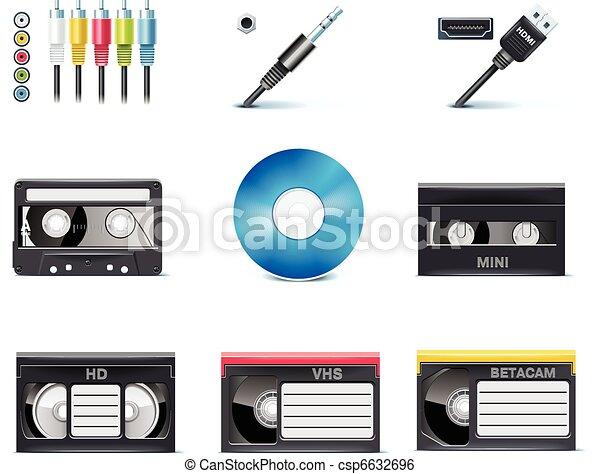 Vector video icons. P.8 - csp6632696