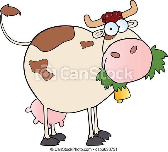 Farm Dairy Cow  - csp6633731