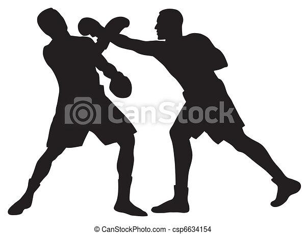 Clip Art Boxing Clip Art boxing illustrations and clip art 322960 royalty free abstract vector illustration of men