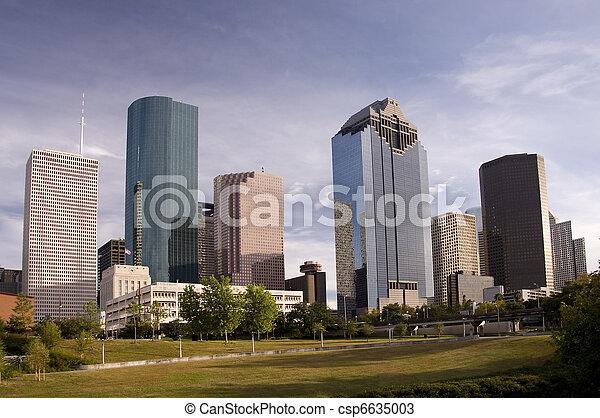 Downtown Houston - csp6635003