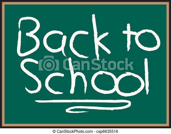 Back to School - csp6635516