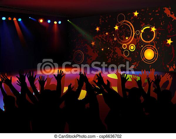 Dance Party - csp6636702