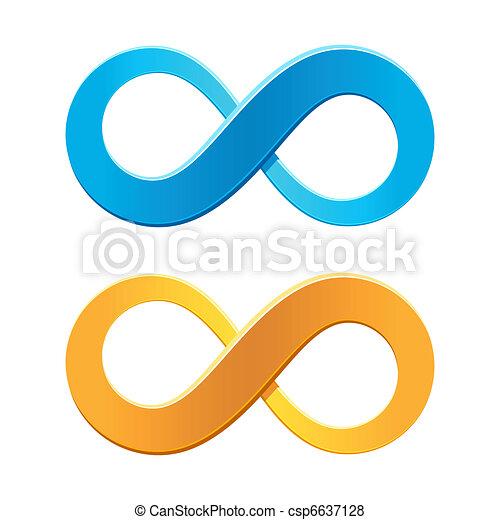 Infinity symbol - csp6637128