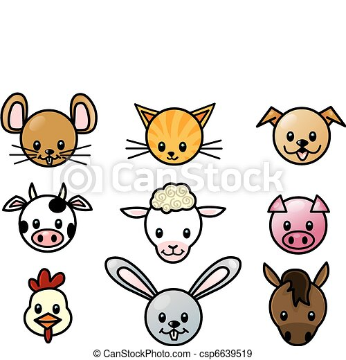 pet icon set - csp6639519