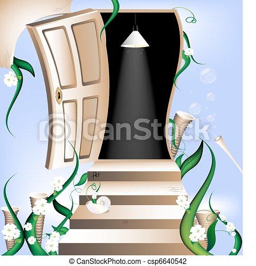 way to heaven - csp6640542