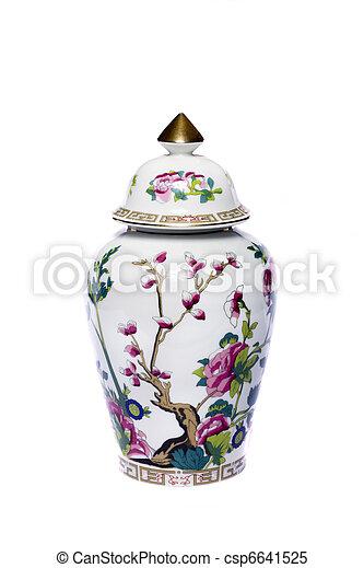 urn ceramic vase - csp6641525