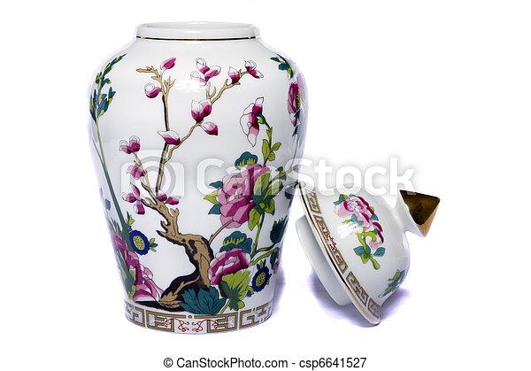 urn ceramic vase - csp6641527