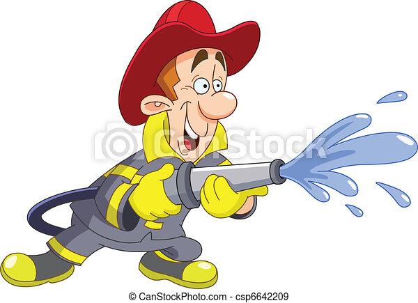Fireman - csp6642209