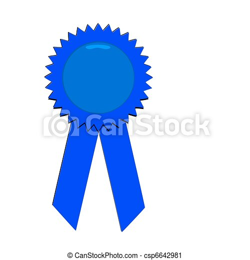 Blue Ribbons Background Blue Ribbon Csp6642981