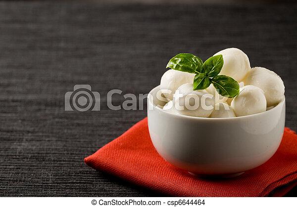 Mozzarella appetizer - csp6644464