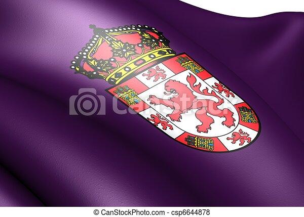 illustration de drapeau cordoue fin haut csp6644878 recherchez des clip art eps des. Black Bedroom Furniture Sets. Home Design Ideas