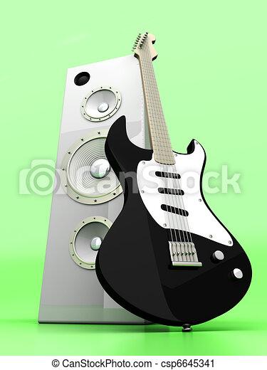 Audio Entertainment - csp6645341